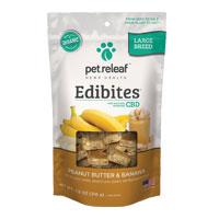 Pet Releaf CBD Hemp Oil Peanut Butter and Banana Edibites