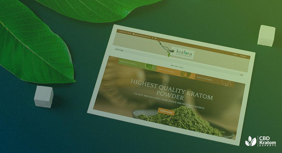 Kratora (Buykratom.us) Website