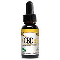 Plus CBD Oil Extra Strength Gold Formula Peppermint