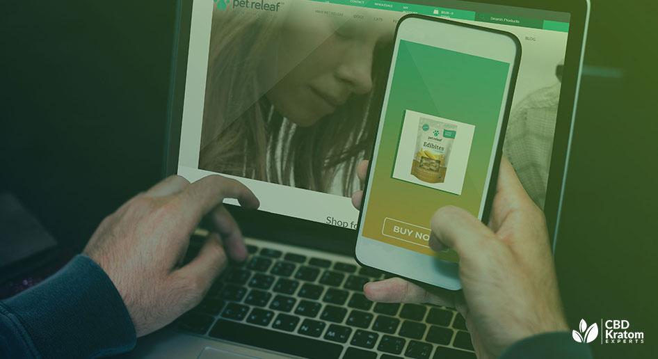 Pet Releaf CBD Hemp Oil Peanut Butter and Banana Edibites Review