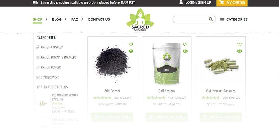 SacredKratom - Best Kratom Suppliers