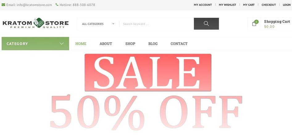 KratomStore - Best Kratom Vendor with Coupon Codes